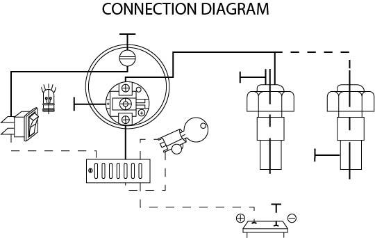 12v water temperatuur inbouwmeter set  u2013 ab marine service