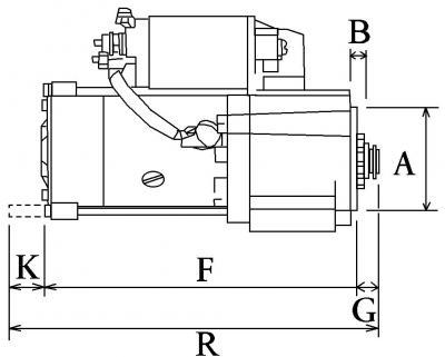 Anlasser Demarreur für Honda Aussenborder BF75 BF90 BF115 BF130 31200-ZW5-003